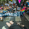 Paris, France, French  LGBT Pride Parade, Act Up, Anti-AIDS Activists holding Banners and Signs, 28 June 2014