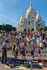 Paris, France, Tourists Visiting Montmartre Area, Street Scenes