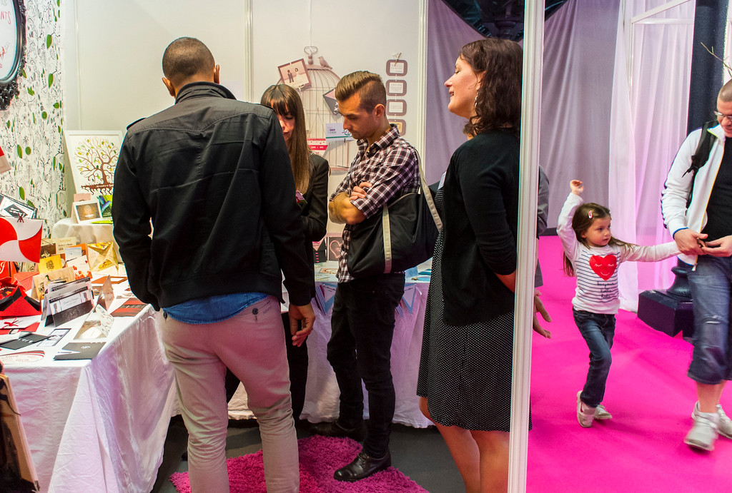 Paris, France, People at First Gay Marriage Trade Show, Parc de VIncennes