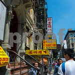 New York City, NY, USA, People in Chinatown Neighborhood, Manhattan